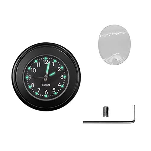 HANLILI kasu Reloj Scooter Montaje Impermeable Montaje Dial Reloj Adecuado for Xiaomi M365 Accesorios Handlebar Reloj Scooter Estilo Accesorios Negro (Color : B-Lack)