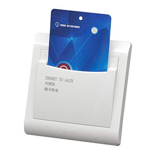 Fransande con llave ahorradora de energía de inserción del interruptor de 40 A de lector de pared de habitación de la habitación de H: como tarjeta para la potencia