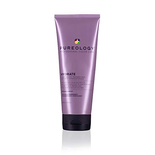 Pureology Hydrate Superfood Treatment | For Dry, Color-Treated Hair | Deeply Hydrating Treatment...