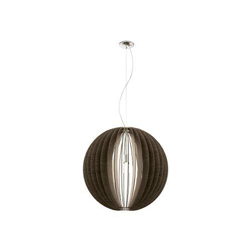 Preisvergleich Produktbild EGLO COSSANO Hängeleuchte,  Stahl,  60 W,  Ø 70 cm,  nickel-matt