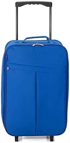 Maleta de Cabina Plegable, Equipaje de Mano, Especial Low Cost. (BZ5376 Azul)