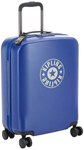 Kipling CURIOSITY S Equipaje de mano, 55 cm, 44 litros, Azul (Laser Blue)