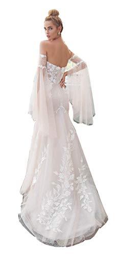 Removable Off the Shoulder Wedding Dress Sleeves