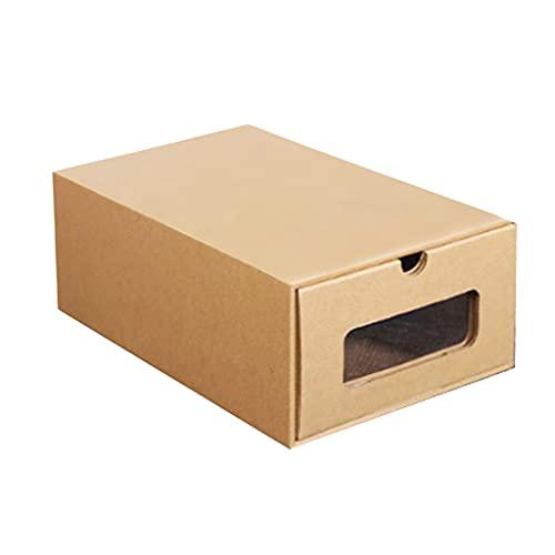 unkonw Caja de zapatos de cartón, cajas de almacenamiento impermeables,...