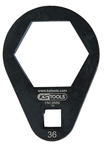 "KS Tools 150.9589 3/8"" Einsteck-Ringschlüssel, extra flach, 36 mm"