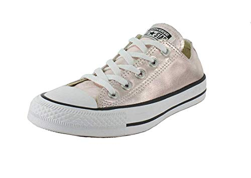 Converse Chuck Taylor All Star Seasonal Colors Ox, Rose Quartz, 6 Women/4 Men