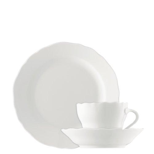 Kaffeeservice 21-tlg. - Maria Theresia Weiß - Hutschenreuther - 02013-800001-18201 -