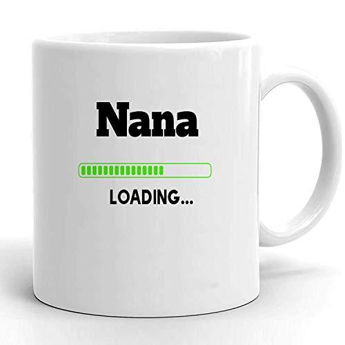 Coffee Mug Ceramic Mug Nueva Nana Esperando Nana Embarazo Revelar Baby Shower Embarazada Nueva Nana Futura Nana Para Ser Taza De Cerámica Cerámica Colorida Oficina Taza De Café Taz