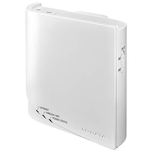 I-O DATA WiFi 無線LAN ルーター コンセント直差しタイプ 867Mbps IEEE802.11ac 独自メッシュルーター 360コネクト IPv6 日本メーカー WN-DX1300GRN