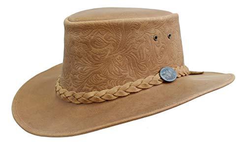 Kakadu Traders Australia - Cappello da cowboy - Uomo marrone Large