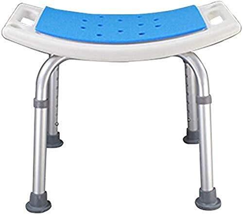 PanYFDD Taburete de ducha Silla de baño Sillón reclinable Antideslizante, de aluminio ligero para personas mayores discapacitadas 150 kg
