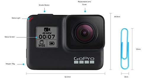 Caméra GoPro HERO 7 Noir Black - 4K Numérique Étanche Écran Tactile - 9