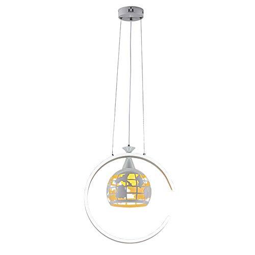 Aluminium lampen, die het smeedijzer modelleert lampenkap industrieel retro - eenvoudige smeedijzeren dakvloer decoratielampen verlicht
