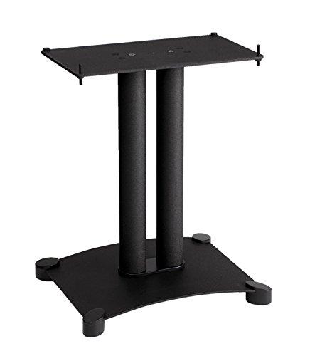 """Sanus SFC18-B1 Steel Series 18"""" Speaker Stand for Center Channel Speakers Black"""