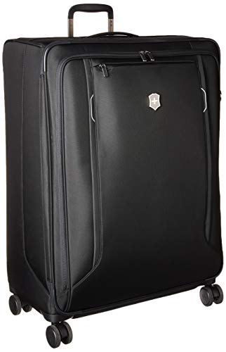 Victorinox WT 6.0 Softside Spinner Luggage, Black, Checked-Extra Large (30')