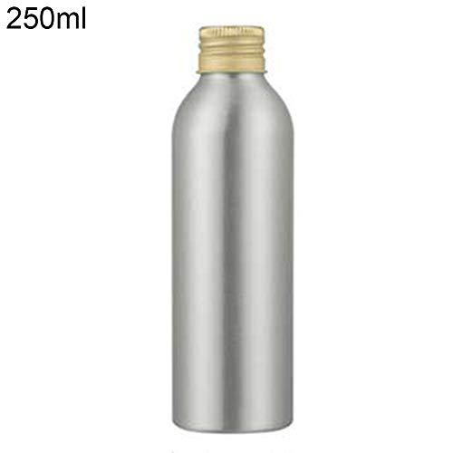 Ruby569y Reiseflasche, Kosmetikbehälter, 40 ml-250 ml, Aluminium-Flasche, zur Aufbewahrung von Lotion, Desinfektionsmittel, Flüssigseife, Behälter – 50 ml, 250 ml