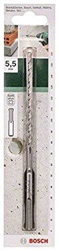 Bosch 2609255505 160mm SDS-Plus Hammer Drill Bit with Diameter 5.5mm