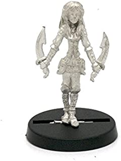 Stonehaven Elf Rogue Miniature Figure (for 28mm Scale Table Top War Games) - Made in USA