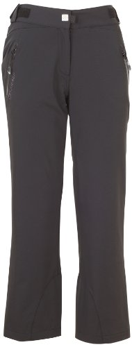 Ziener Damen Hose Training Ski, Black, 38, 124107