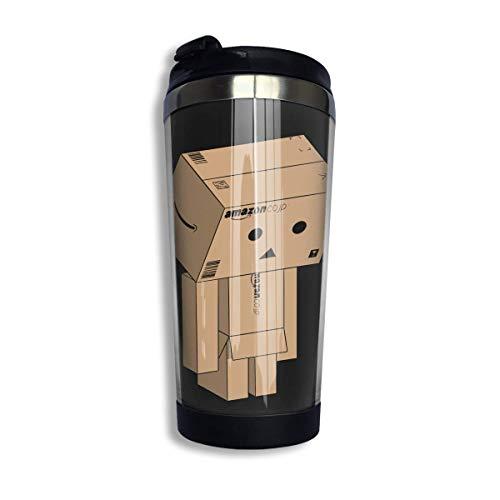 YHKC Taza de té, taza de viaje, taza de café, ventosa Danbo Classic Coffee Travel Mug Cup Stainless Steel Vacuum Insulated Tumbler 13.5 Oz
