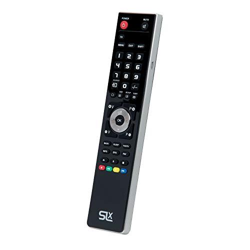 Universele afstandsbediening, vervangende IR-afstandsbediening voor tv, Blu-Ray, satelliet, mediacentrum, Soundbars, SKY/SKY Q, Virgin Media, NowTV met pc-programmering Bedien elk apparaat