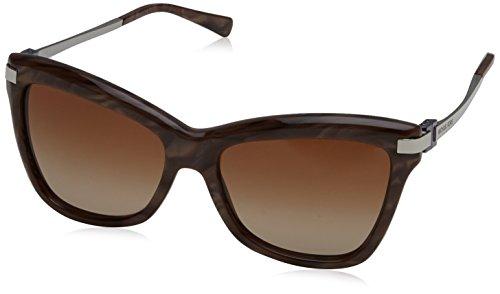 Michael Kors Dames AUDRINA III 318513 56 zonnebril, Pearl Grey/Browngradient