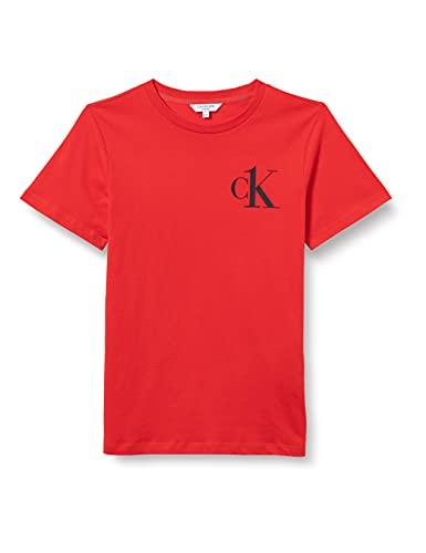 Calvin Klein Tee T-Shirt, Fierce Red, 10/12/2020 Bambino