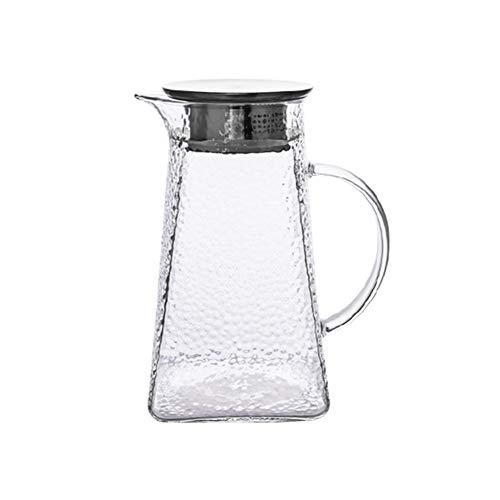 ANXI 1300ML Ketel Met RVS Strainer Deksel Veilig Glas Theepot Grote Capaciteit Huishoudelijke Horeca Transparante Pitcher Voor Bloem Thee