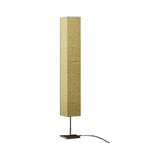 Festnight Standleuchte Standlampe Stehleuchte mit Papierschirm Papier Lampe Stehlampe 170cm Höhe für Wohnzimmer Schlafzimmer