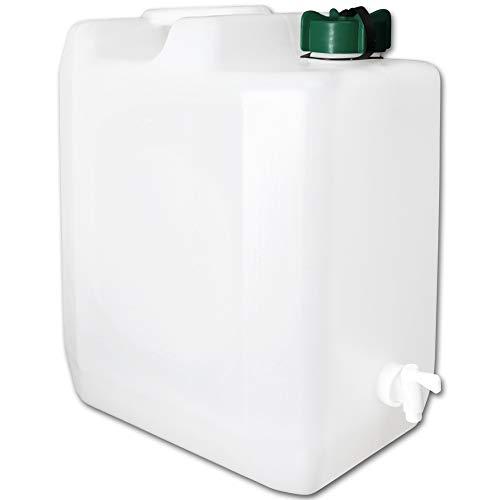 TW24 Wasserkanister mit Hahn Camping Wasserbehälter Trinkwasserkanister mit Größenauswahl (Wasserkanister 35L)