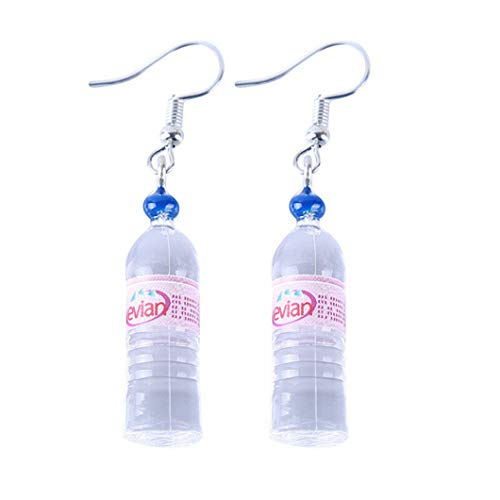 Sperrins Women Bohemian Water Bottle Pendant Earrings Drop Dangle Earrings,Color1