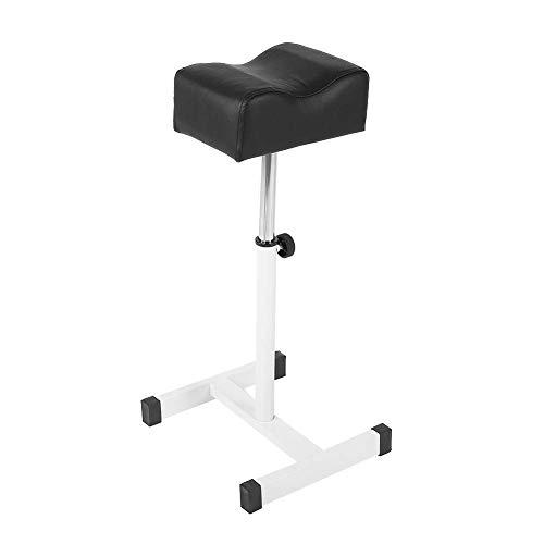 Pedicure kruk stoel met voetensteun, verstelbare manicure voetensteun bureau met zacht kussen design salon Spa Equipment Technician kruk
