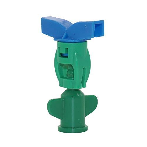 50Pcs Rotary Hanging Assemblée Gicleurs irrigation par aspersion à effet de serre de l'agriculture 360 degrés tête de buse de pulvérisation rotative (Color : Orange)
