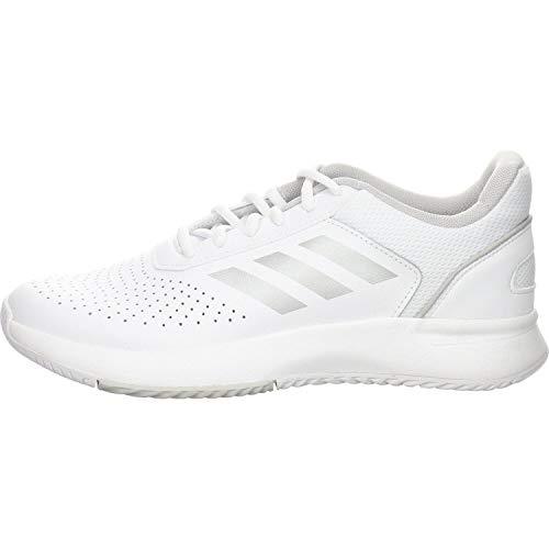 Adidas COURTSMASH, Zapatillas de Deporte para Mujer, Blanco (Ftwbla/Plamat/Gridos 000), 38 2/3 EU