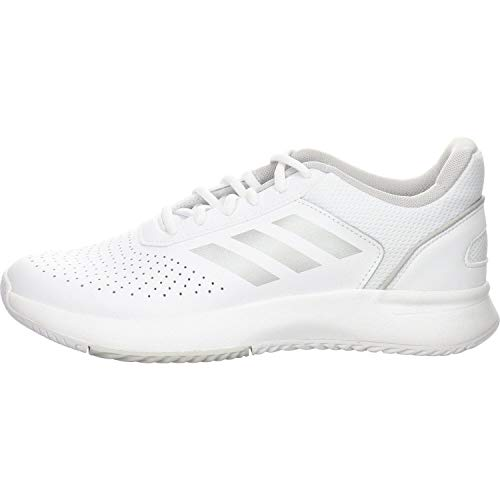 adidas Damen Courtsmash Fitnessschuhe, Weiß (Ftwbla/Plamat/Gridos 000), 38 EU