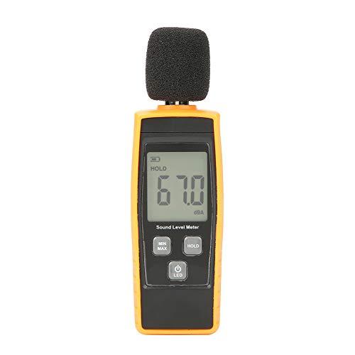 Medidor de ruido GM1359 Medidor de nivel de sonido Medidor de decibelios digital Medidor de ruido digital Probador de ruido ambiental