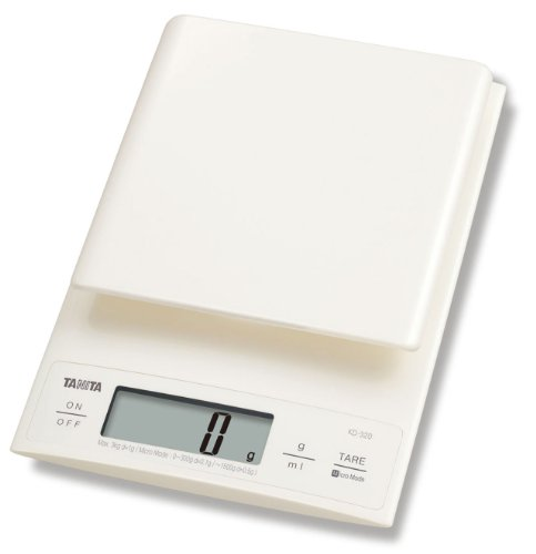 Tanita KD-320 Digital Kitchen Scale 3kg-Cream