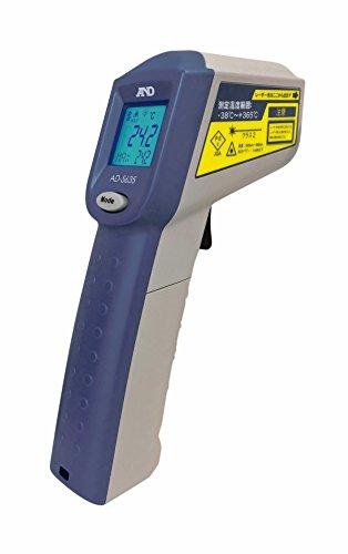 A&D レーザーマーカー付き赤外線放射温度計 AD-5635(体温計ではありません)