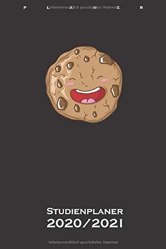 Cookie der leckere Keks Studienplaner 2020/21: Semesterplaner (Studentenkalender) für Naschkatzen und Keksliebhaber