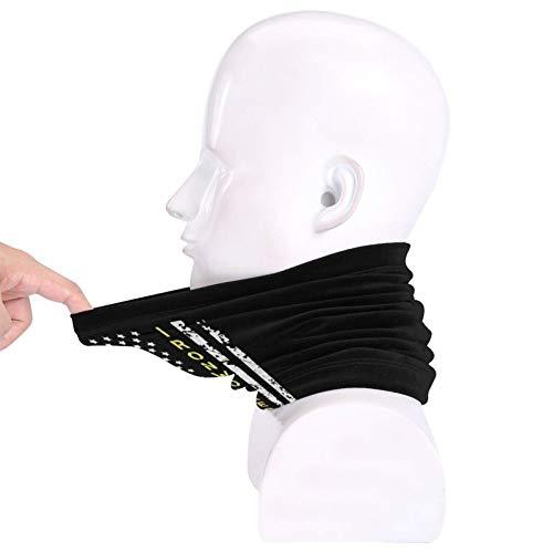 Ironworker american flag neck gaiter black face mask unisex balaclava for men and women