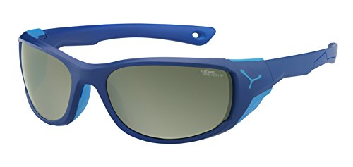 Cébé Jorasses Gafas, Unisex Adulto, Azul (Matt Dark Blue), M