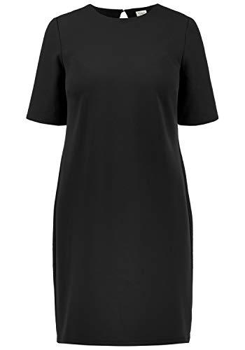 ONLY Estelle Damen Abendkleid Cocktailkleid Festliches Kleid Mit Rückenausschnitt, Größe:M, Farbe:Black