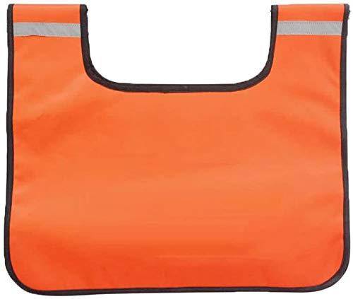 AIHOUSE Starke dauerhafte PVC-Winde-Seil-Dämpfer-Decke mit orangefarbener Farbe der Tasche, wasserdichte Winde-Seilkissen