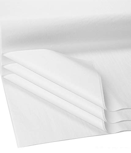 Flexicore Packging® | Gift Wrap Tissue Paper | Size: 15x20 | Acid Free (White, 100 Sheets)