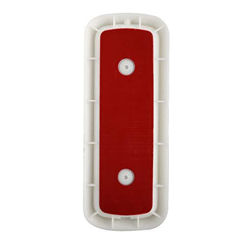 Videoportero, cámara de 1080P con visión Nocturna Inteligente de detección Pir y Timbre de Video inalámbrico con Lente Gran Angular Wdr de 166 °, para teléfonos domésticos 6(White)