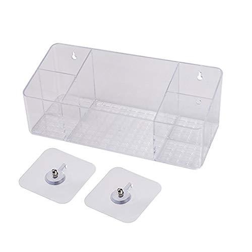Organizadores y cajas para joyas Estante Cosmético De Escritorio Caja De Almacenamiento De Escritorio Sin Perforaciones Estante De Almacenamiento De Cosméticos Cosméticos Tendedero D