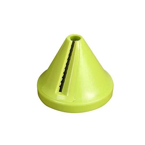 clifcragrocL Vegetales de plástico Cortador de Fruta Herramienta de la Cocina pelador Espiral Shred Cortador máquina de Cortar Spiralizer Cortador ralladores de Cocina Herramienta de la Cocina