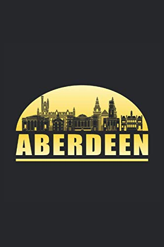 ABERDEEN: Squared Notebook Journal Planner Diary ToDo Book Aberdeen Scotland City Cityscape...