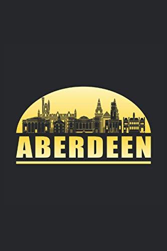 ABERDEEN: Dot Grid Notebook Journal Planner Diary ToDo Book Aberdeen Scotland City...
