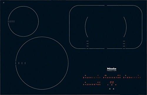 Miele KM6358 FL.BDG. Kochfeld Elektro / Induktion / 79,2 cm / Intuitive Schnellanwahl durch Zahlenreihen - Direktanwahl Plus / Modernes Design - 792 mm breit für den flächenbündigen Einbau